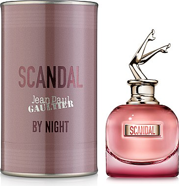 Scandal By Night Intense Jean Paul Gaultier парфюмированная вода 80мл TESTER