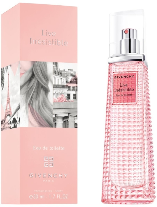 Live Irresistible Givenchy туалетная вода 75мл