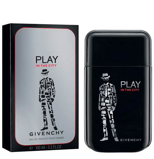 Givenchy Play in the City for Him туалетная вода 100мл