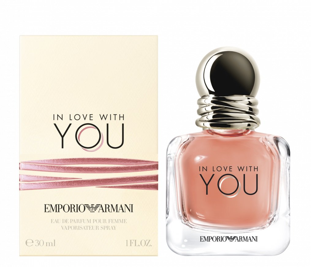 In Love With You Emporio Armani парфюмированная вода 30мл