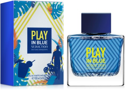 Play In Blue Seduction For Men туалетная вода 100мл ТЕСТЕР