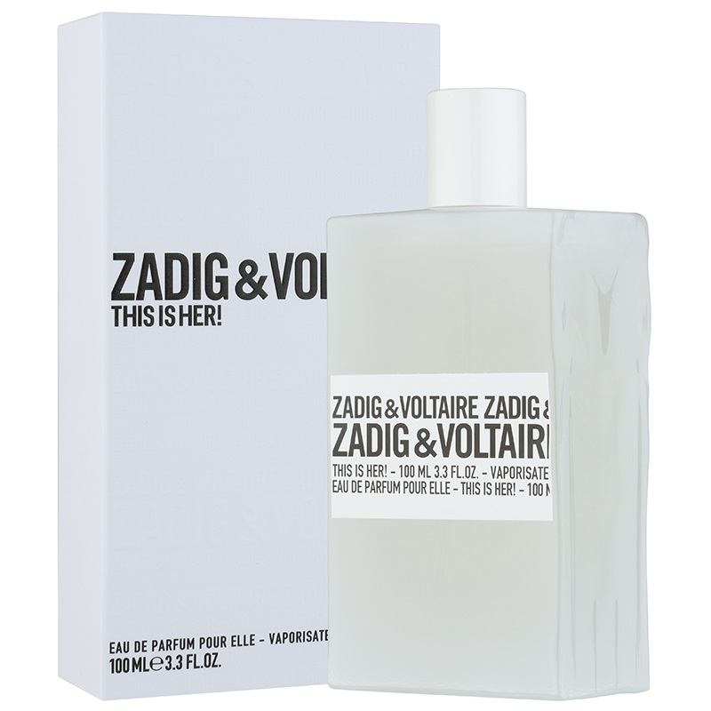 Zadig & Voltaire This is Her парфюмированная вода 100мл ТЕСТЕР