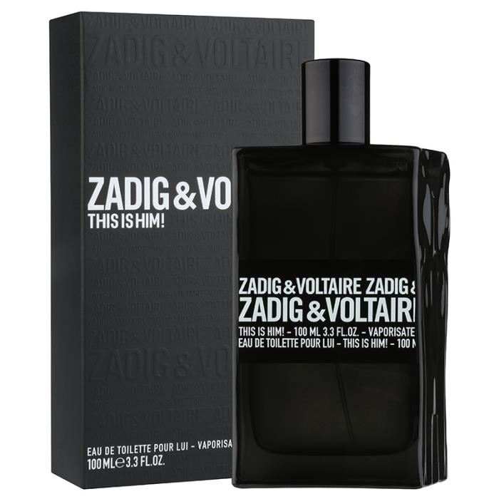 Zadig & Voltaire This is Him туалетная вода 100мл ТЕСТЕР